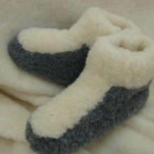 carpet – slippers with patch B-2